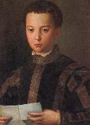 Agnolo Bronzino Portrait of Francesco I as a Young Man oil painting reproduction